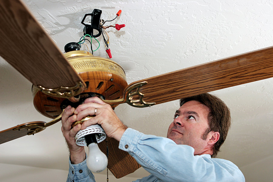 Ceiling Fan Replacement in Brentwood, NY